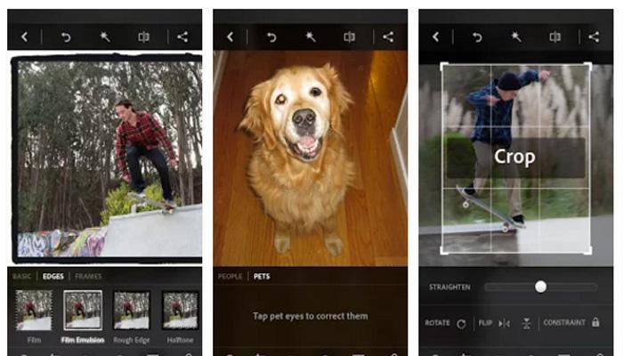 Adobe Photoshop Express android ios windows