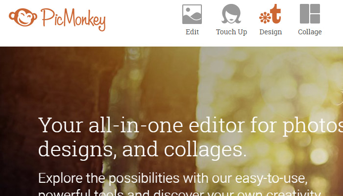 Editar fotos online con PicMonkey