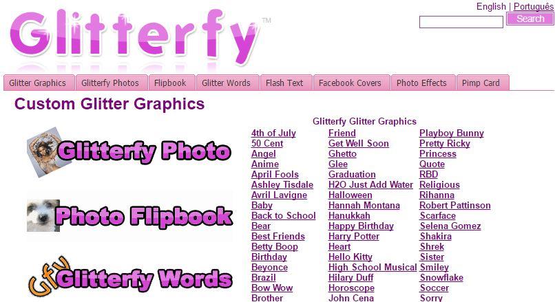 Glitterfy
