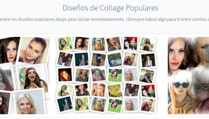 Photovisi editor de fotos web para crear collage