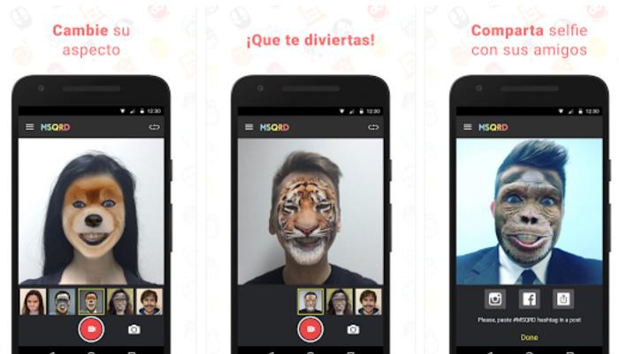 app para cambiar de caras