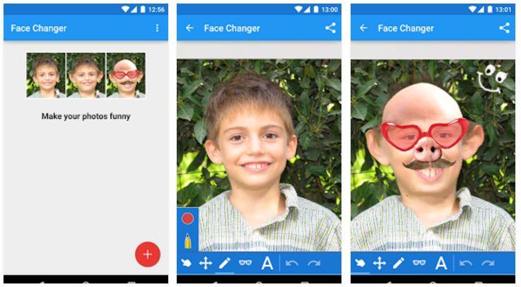 cambia caras para android
