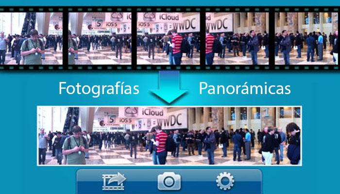 fotografias panoramicas android app ios iphone