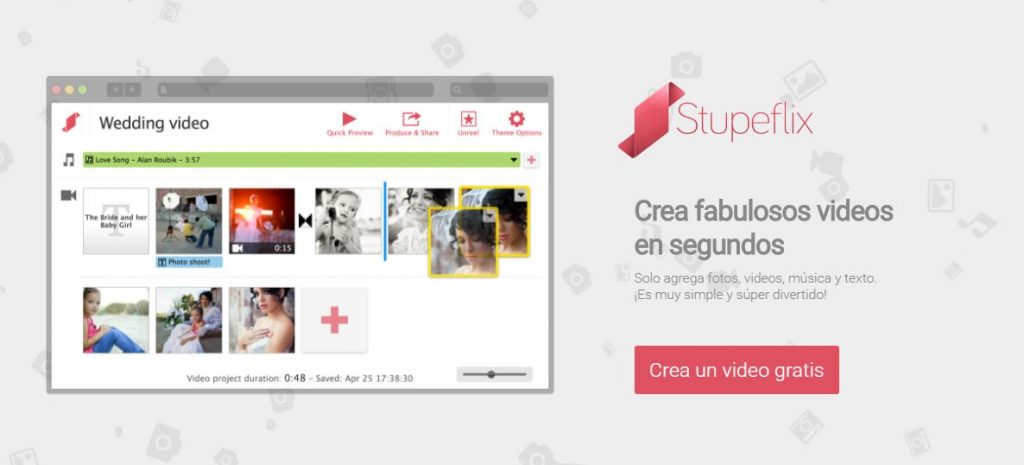 stupeflix crea videos online en segundos