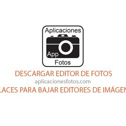 Descargar editor de fotos – Enlaces para bajar editores de Imágenes Gratis