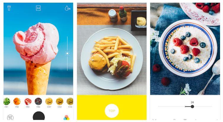 foodie app para hacer fotos a la comida