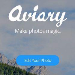 Aviary Editor de fotos en linea para editar tus imágenes