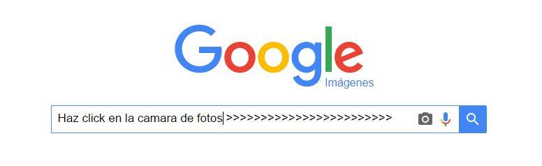 Buscar por imagen en Google imágenes desde el PC