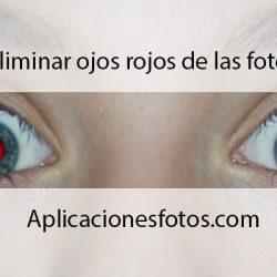 Eliminar los ojos rojos de una imagen