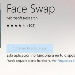 Face Swap la app de Microsoft para cambiar de cara en Windows
