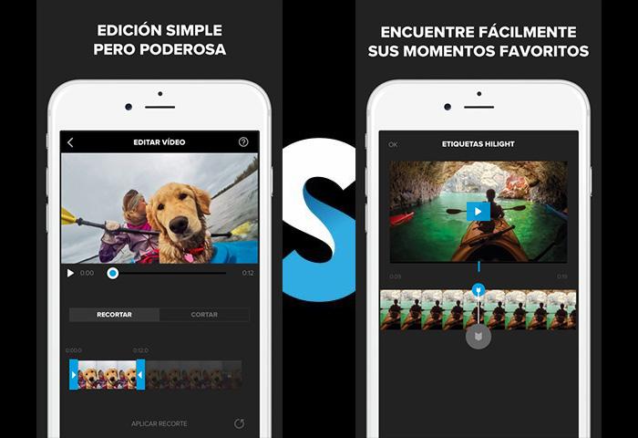 aplicaciones para fotos Splice - Interfaz