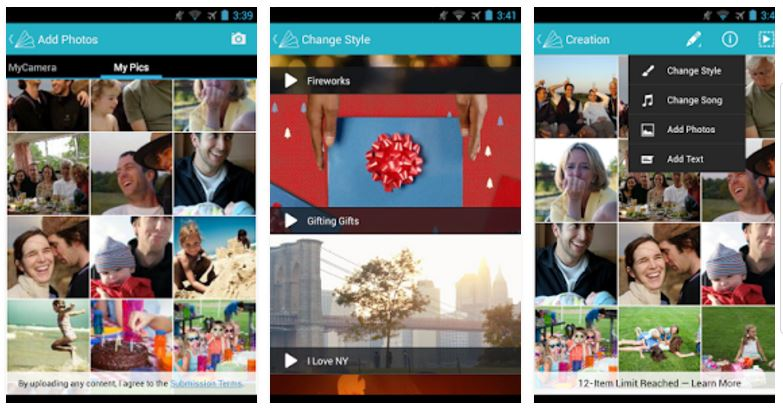 Animoto Video Maker app