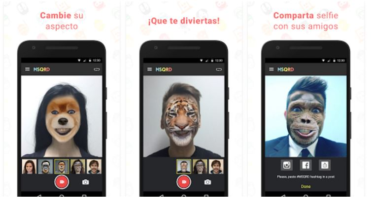 msqrd-app-cambiar-caras