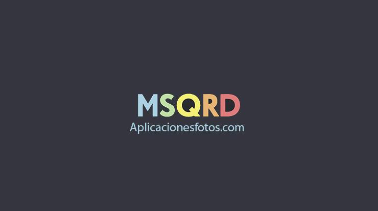 Masquerade o mejor conocida como MSQRD