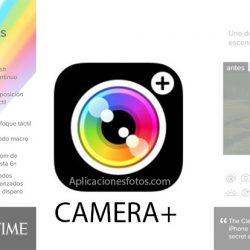 CAMERA+ Fotografías de calidad con la cámara de tu iPhone