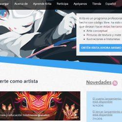 Krita editor de imágenes gratuito para pintura digital