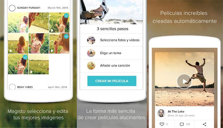 app hacer vídeos con fotos y música