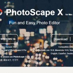 PhotoScape X editor de imágenes para Mac y Windows