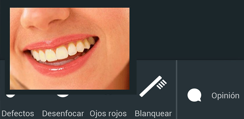 Blanquear dientes app android