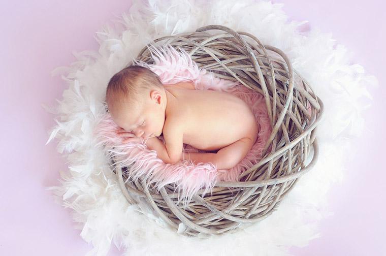 Ideas originales para hacer fotos a bebes