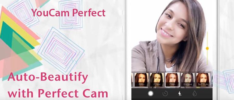 YouCam Perfect app selfies