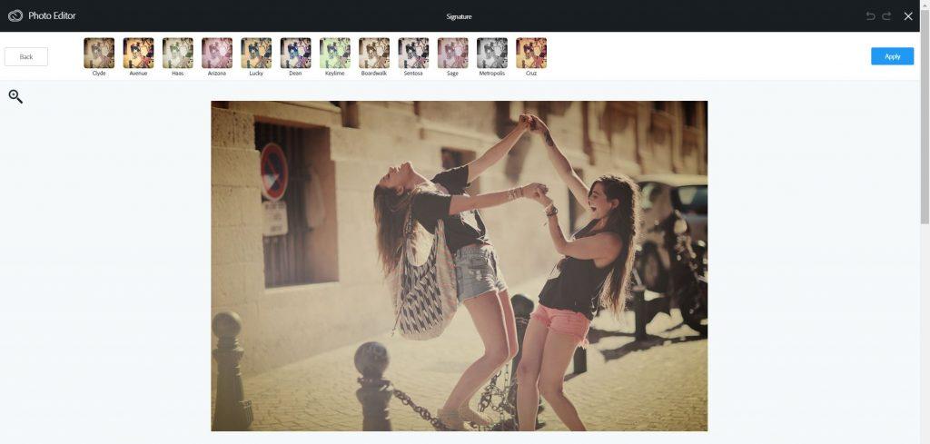 crear aspecto vintage con un editor online
