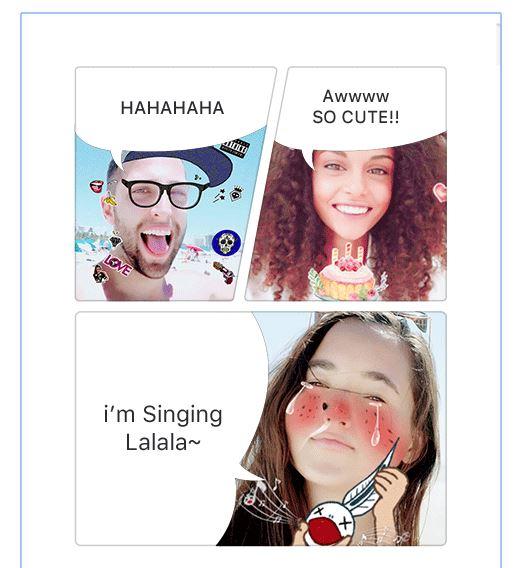 app selfies